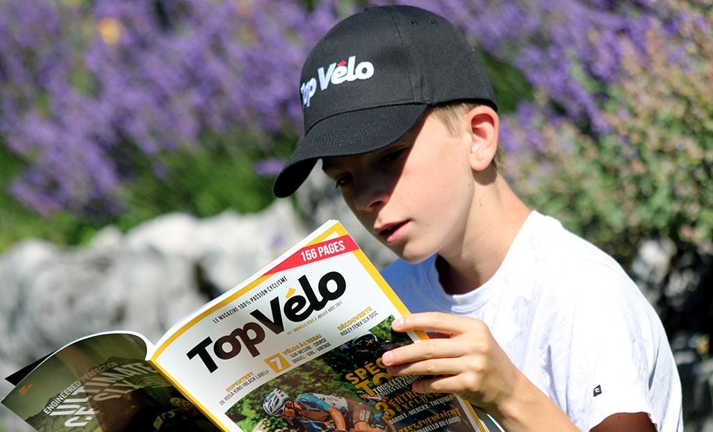 Offrez-vous la casquette Top Vélo !